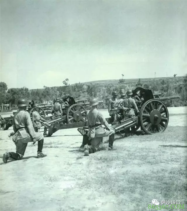 区区几十门德国105炮 撑起了抗战炮兵的半边天