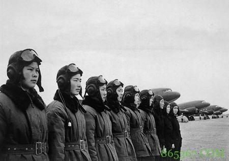 永远的空中女神!新中国首批女飞行员剪影