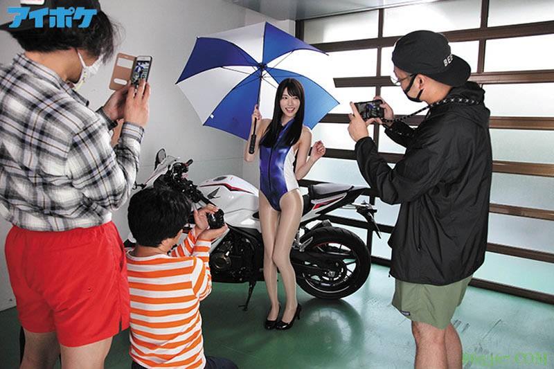 """业界黑暗面!长腿赛车女郎""""枫カレン""""沦为工具,老板、经纪、摄影师通通玩一轮!"""