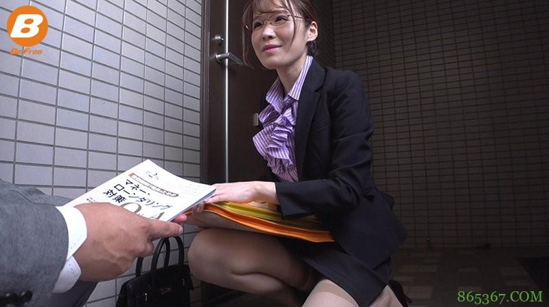"""朴素银行员""""中村ここね""""竟然是巨乳骚货 专业骑乘打桩榨精"""