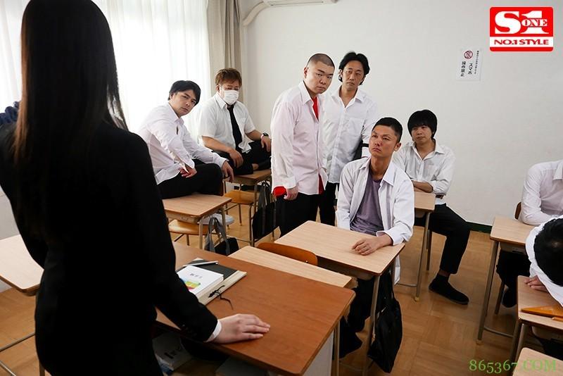 花宫亚梦SSNI-800 美女老师被坏学生欺负无法喘息